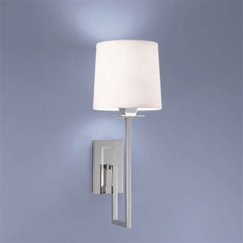 Polished Nickel Wall Sconce Polished Nickel Single Light Wall Sconce Norwell 1 Light Armed Glass Wall