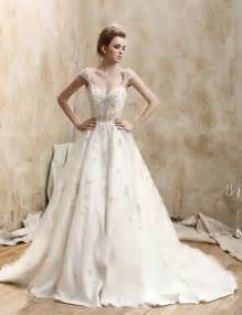 wedding dress vintage vintage retro lace wedding dress with cap sleeves sang maestro