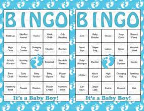 baby shower bingo cards template unavailable listing on etsy