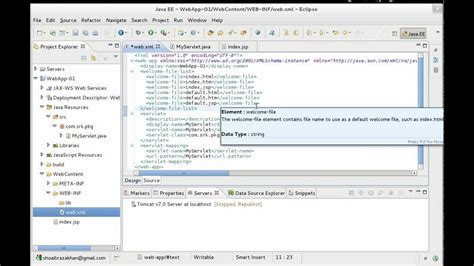 tutorial website java creating a web application with eclipse ide