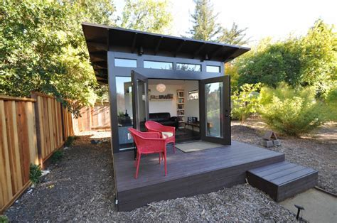 prefab office sheds kits for your backyard office