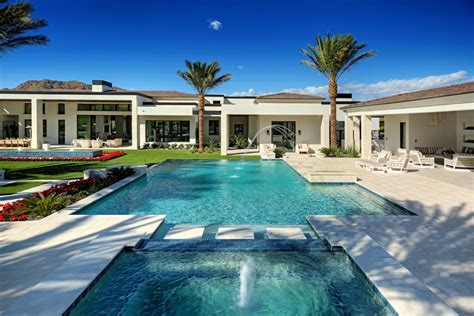 nicest backyards luxury backyards presidential pools spas patio of arizona