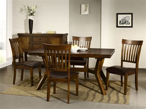 dark wood dining room tables cuba dark wood furniture dining table and chairs set ebay