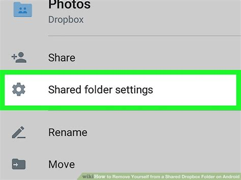 Dropbox Remove Shared Folder | how to remove yourself from a shared dropbox folder on android