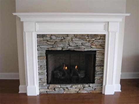 fireplace with white mantle 17 best ideas about gas fireplace mantel on