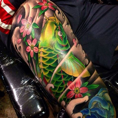 tattoo numbing cream toronto love the green and yellow combo tattoos pinterest