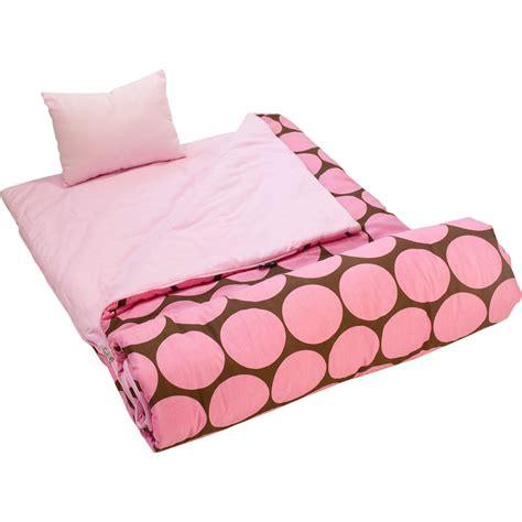 sleeping bag wildkin big dot pink sleeping bag
