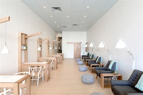 cuisine simple beauty salon interior design by iraqi cuisine our salon nail salon nail salon design ideas