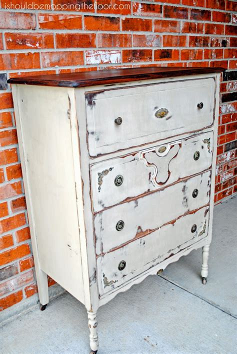 Chest Of Drawers Makeover by I Should Be Mopping The Floor Chest Of Drawers Makeover