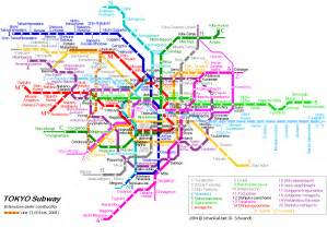 Japan Subway Map by Tokyo Map Detailed City And Metro Maps Of Tokyo For
