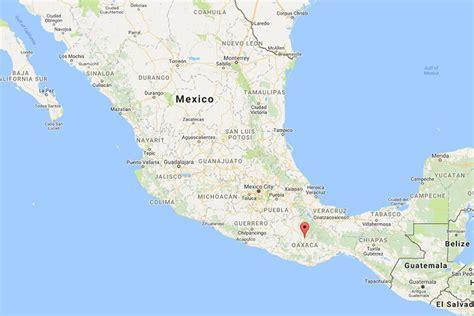 map of mexico oaxaca breaks oaxaca mexico la vida global travel