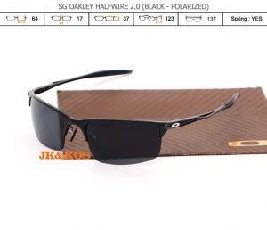 New Kacamata Murah Sg Catalis jual kacamata oakley halfwire 2 0 black sg grosir