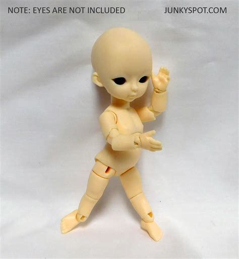 12 cm jointed doll junkyspot hujoo baby 12cm suve version 2 apricot blank abs