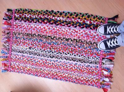 kleed weven blog van floortje tuturial vloerkleed van stof