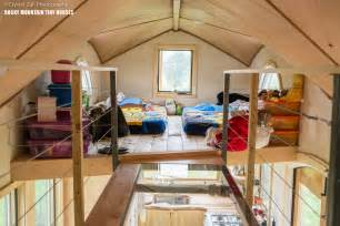 Two Bedroom Tiny House by Whimsical Pequod Tiny House Fits Family Of Four