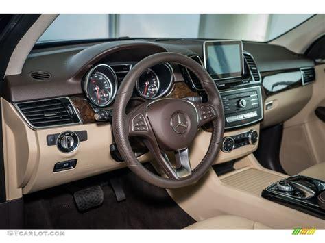 beige espresso interior 2016 mercedes gle 350
