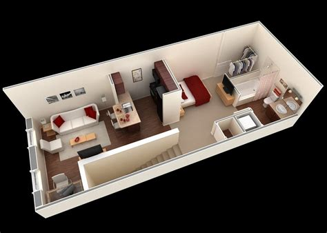 small apartment plan interior design ideas