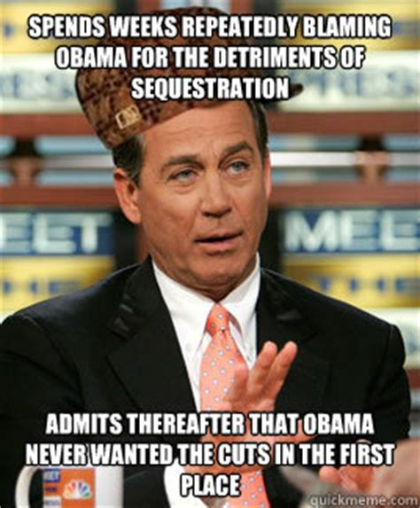 Blame Obama Meme - spends weeks repeatedly blaming obama for the detriments
