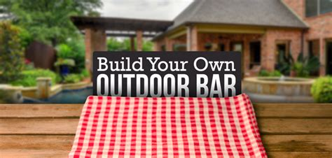 Build Your Own Outdoor by Diy Build Your Own Outdoor Bar