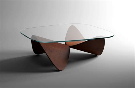 Designers Table | sculptural oak sofa table by sandro lopez