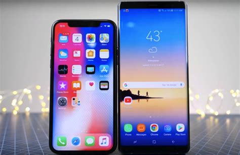 www test it iphone x vs galaxy note 8 speed test it s so much closer