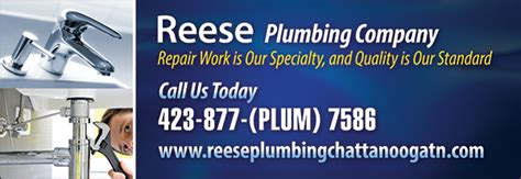 Reese Plumbing by Christians In Business Reese Plumbing Co Details