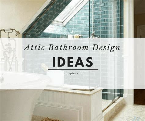 Small Attic Bathroom Ideas by Attic Bathroom Design Ideas Houspire