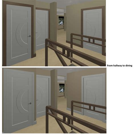 wood trim vs white trim stained doors with painted trim pilotproject org