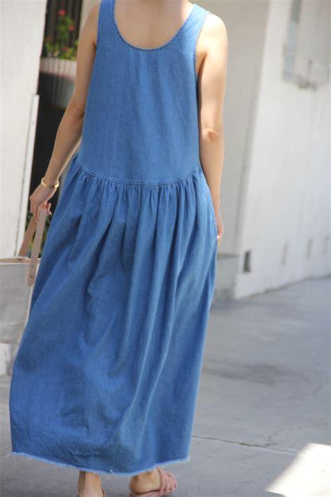 Via Maxi via denim maxi dress garmentory