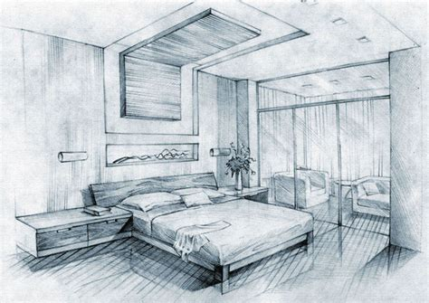 drawing on bedroom walls interior sketchbook i on behance