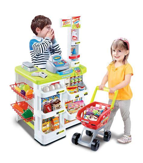 Pretend Play Toys by Vinsani Children Pretend Play Supermarket Shop Toys Set