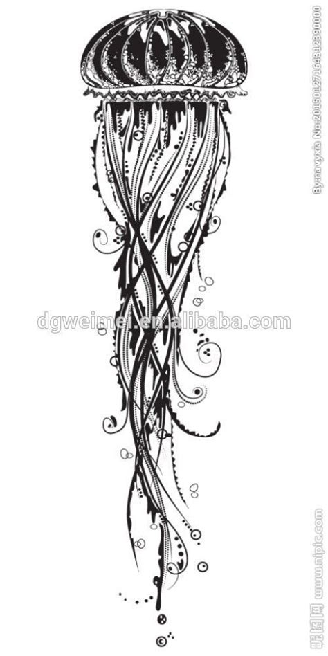 tribal jellyfish tattoo 25 best ideas about jellyfish on