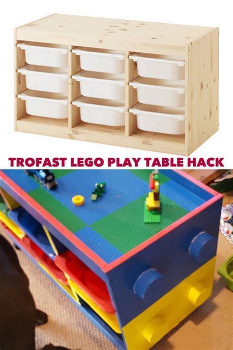 Ikea Trofast trofast to lego table in one weekend ikea hackers ikea