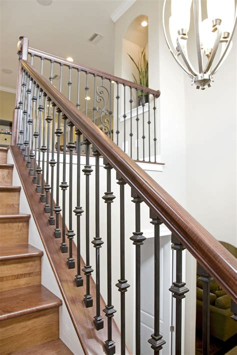 rod iron banister bakerfield luxury homes wrought iron stairs bakerfield