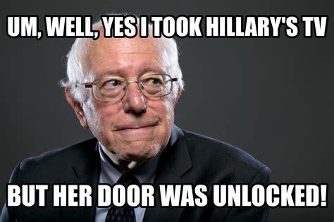 Bernie Memes - image bernie thief