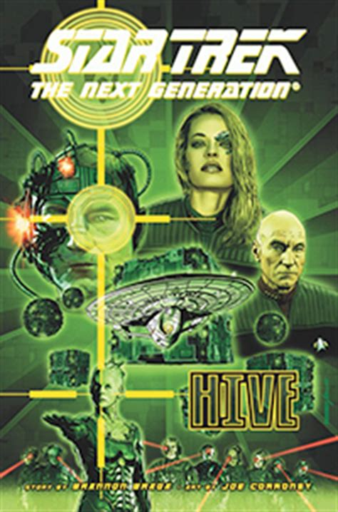 hive book 9 release date comic review trek the next generation hive