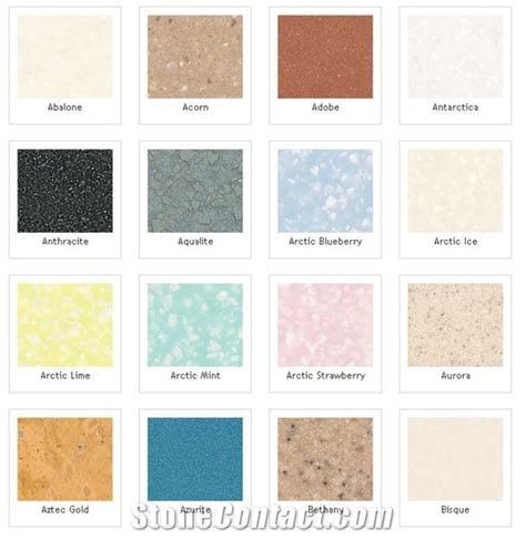 dupont corian colors corian solid surface colors pictures to pin on