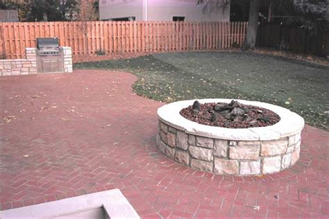 Patio Pavers For Grill Paver Patio On Patio Patio Grill And
