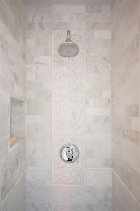 Decorative Shower Tiles Transitional Bathroom Decorative Bathroom Tile