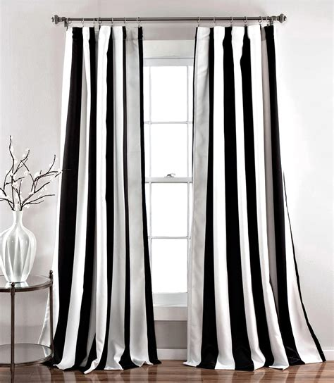 striped curtains black and white my favorite black and white curtains cuckoo4design