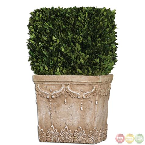 Evergreen Planters by Boxwood Evergreen Hedge Planter 60110