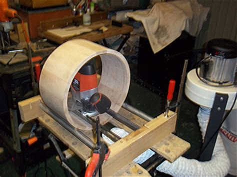 Koko S Jig For Making A Stave Drum Without A Lathe