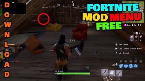 fortnite free fortnite mod menu w aimbot esp ci loader fortnite