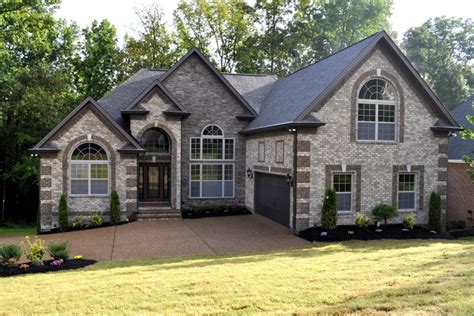 contemporary brick colors contemporary exterior nashville by robinson construction