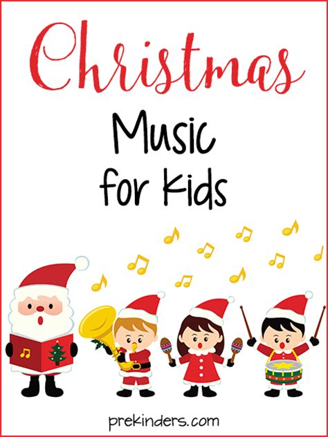 christmas songs for preschool kids prekinders