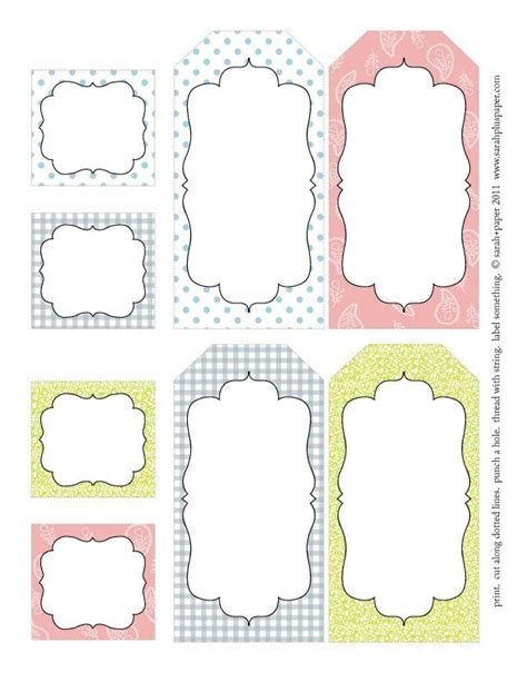 Printable Easter Labels Crafthubs Tags Pinterest Search Tag Templates And Labels Free Labels Template Free