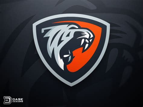 design a esports logo tiger esports logo logos sports logos and brand design