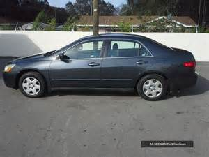 2005 honda accord lx sedan 4 door 2 4l