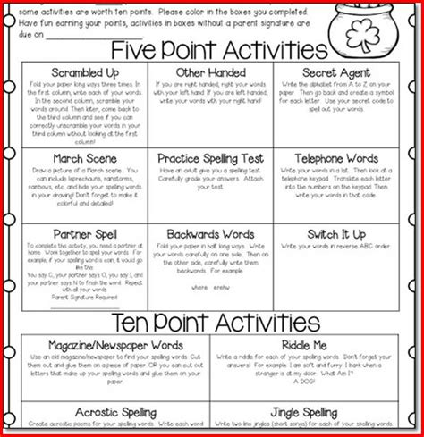 4th grade writing prompts for fun spelling and language practice fun spelling activities for 4th graders kristal