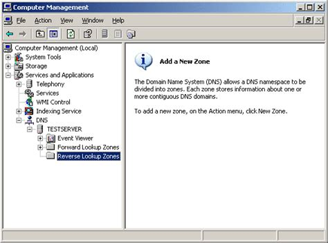 Dns Server Address Lookup Dns Server Installation Your Own Server Part 2 Windows Server 2003 Installation